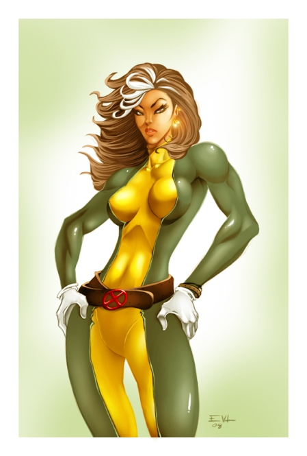 Rogue, hot as hell by Erik Von Lehmann