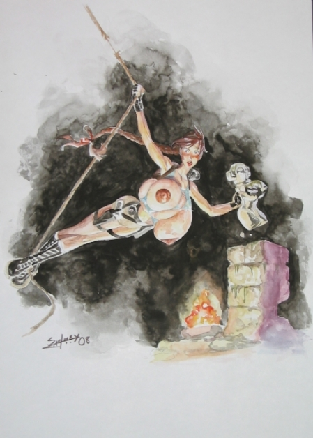 Lara Croft and the Cursed Idol, by Sydney Lima